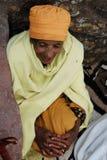 Mujer religiosa etíope Imagen de archivo libre de regalías