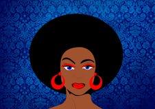 Mujer retra libre illustration