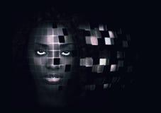 Mujer robótica Fotos de archivo libres de regalías