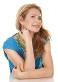 Mujer rubia Imagen de archivo libre de regalías
