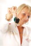 Mujer rubia Imagenes de archivo