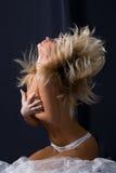 Mujer rubia atractiva Fotos de archivo libres de regalías