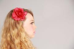 Mujer rubia hermosa Fotografía de archivo libre de regalías