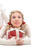 Mujer rubia hermosa joven Imágenes de archivo libres de regalías
