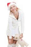 Mujer rubia hermosa joven Imagen de archivo libre de regalías