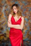 Mujer rubia muy atractiva y sensual imagen de archivo libre de regalías