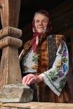 Mujer rumana Imagen de archivo libre de regalías