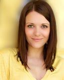 Mujer sana joven hermosa Foto de archivo libre de regalías