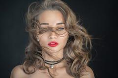 Mujer sensual de lujo Fotografía de archivo