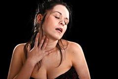 Mujer sexual Foto de archivo libre de regalías