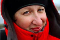 Mujer sonriente Imágenes de archivo libres de regalías