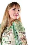 Mujer sonriente atractiva hermosa joven Fotos de archivo libres de regalías
