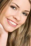 Mujer sonriente del retrato Fotografía de archivo libre de regalías