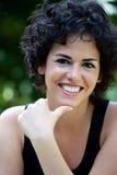 Mujer sonriente joven Fotos de archivo