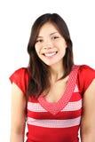 Mujer sonriente linda Imágenes de archivo libres de regalías