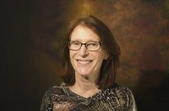 Mujer sonriente madura del redhead imagen de archivo libre de regalías