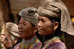 Mujer tailandesa de la tribu de la colina Fotos de archivo