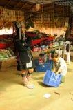 Mujer tailandesa de la tribu de la montaña Fotografía de archivo