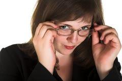 Mujer terminante imagen de archivo
