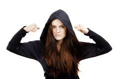 Mujer trastornada de los jóvenes imagen de archivo libre de regalías