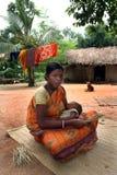 Mujer tribal Fotos de archivo