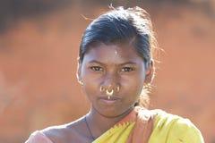 Mujer tribal Foto de archivo libre de regalías