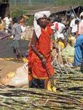 Mujer tribal Fotografía de archivo