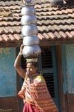 Mujer tribal Fotos de archivo libres de regalías