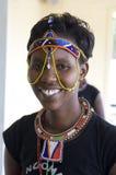 Mujer tribal africana Foto de archivo