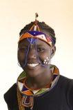 Mujer tribal africana hermosa Fotografía de archivo libre de regalías