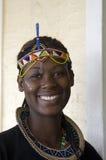 Mujer tribal africana hermosa Imagen de archivo libre de regalías