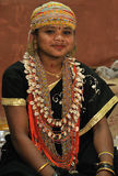 Mujer tribal de Bonda Foto de archivo