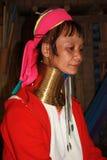 Mujer tribal de Karen en Tailandia Fotos de archivo libres de regalías