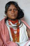 Mujer tribal de la India Imágenes de archivo libres de regalías