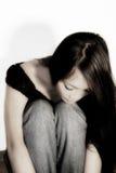 Mujer triste Imagen de archivo