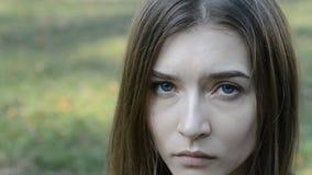 Mujer triste del retrato metrajes
