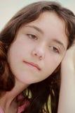Mujer triste joven Imagen de archivo libre de regalías