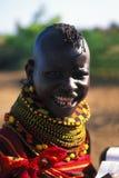 Mujer Turkana (Kenia) Imagen de archivo