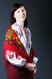 Mujer ucraniana Fotos de archivo
