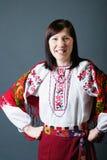 Mujer ucraniana Fotografía de archivo