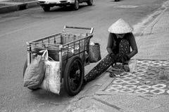 Mujer vietnamita Imágenes de archivo libres de regalías