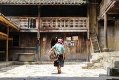 Mujer vietnamita en el norte de Vietnam Fotos de archivo