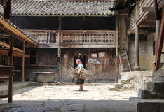 Mujer vietnamita en el norte de Vietnam Foto de archivo libre de regalías