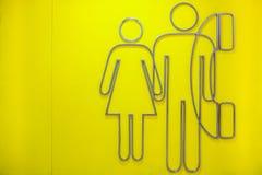 Mujer y hombre Fotos de archivo