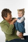 Mujer y niño Fotos de archivo libres de regalías