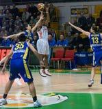 Mujeres 2009-2010 de EuroLeague. Fotografía de archivo libre de regalías