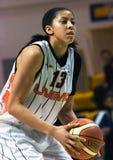 Mujeres 2009-2010 de EuroLeague. Foto de archivo