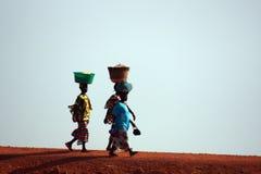 Mujeres africanas Imagen de archivo