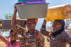 Mujeres africanas Fotografía de archivo