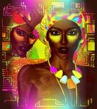 Mujeres africanas hermosas